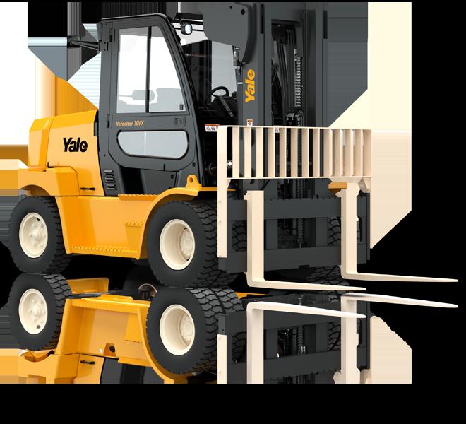 Treibgas- oder Dieselgabelstapler 6000-8000kg
